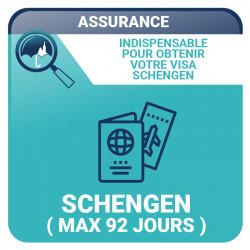 Assurance Schengen (maximum 92 jours) - Voyages, vacances
