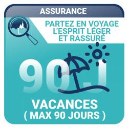 Assurance Vacances (maximum 90 jours) - Voyages, vacances