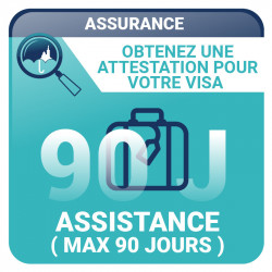 Ulysse Assistance (maximum 90 jours)