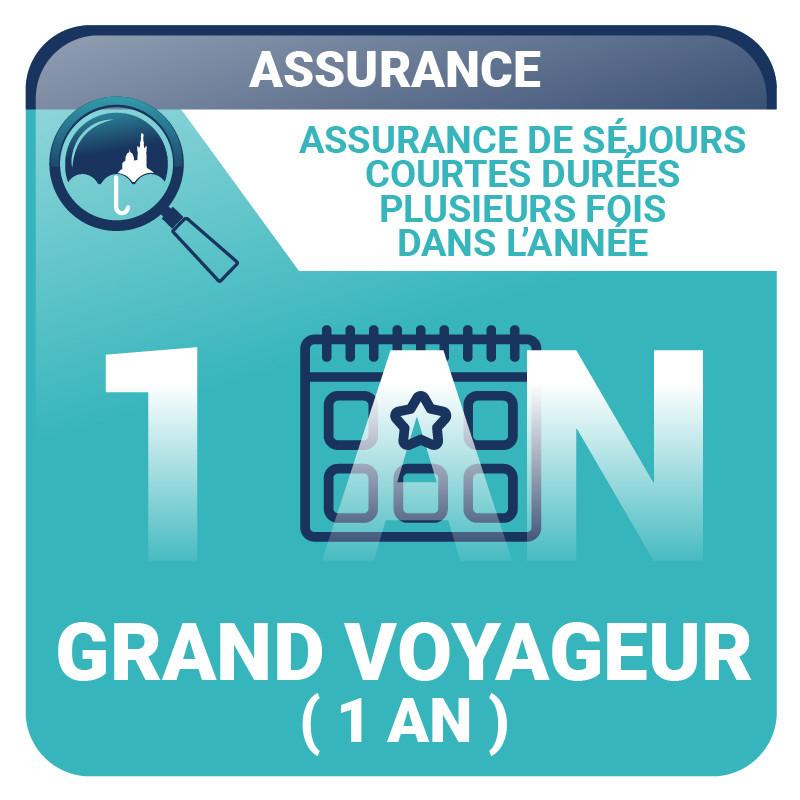Assurance Grand Voyageur (1 an) - Voyages, vacances