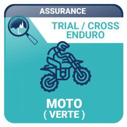 Assurance Moto verte
