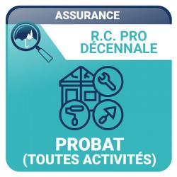 PROBAT (TOUTES ACTIVITÉS)